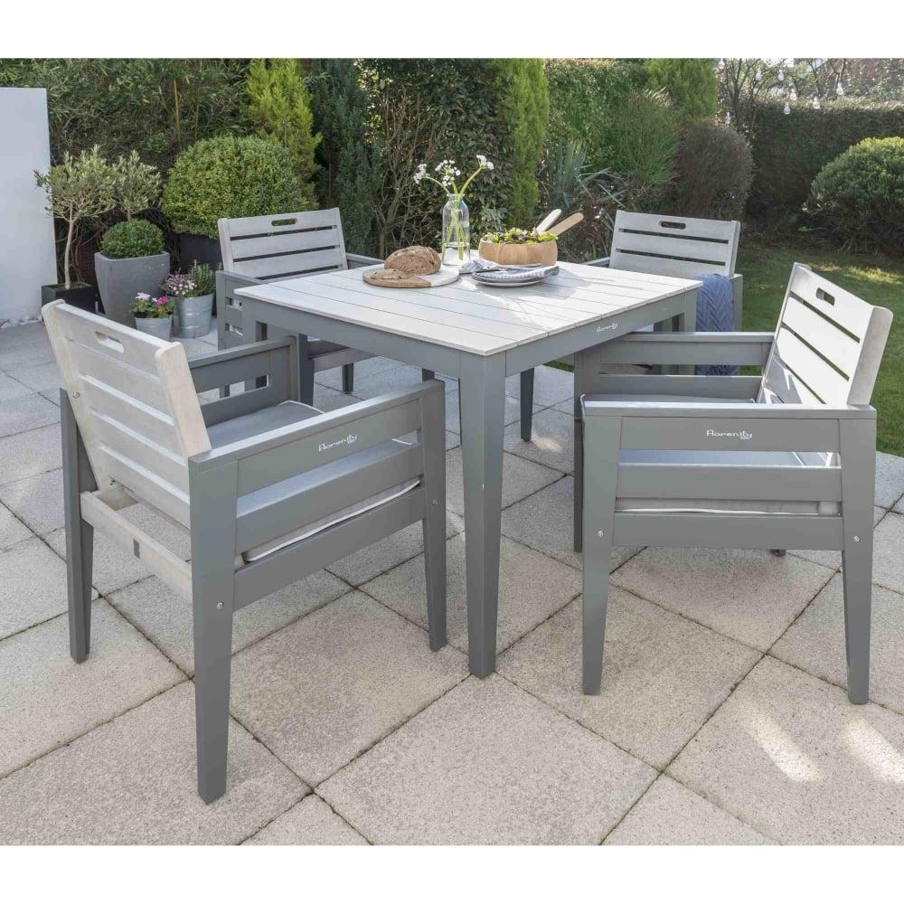 Florenity grigio dining set