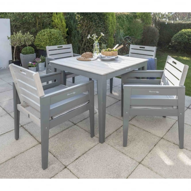 Norfolk Leisure Florenity Grigio Dining Set