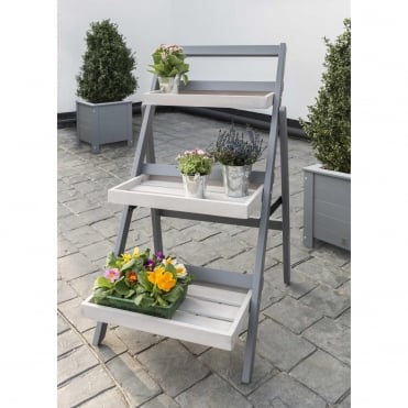 Florenity Grigio Folding Pot Shelf