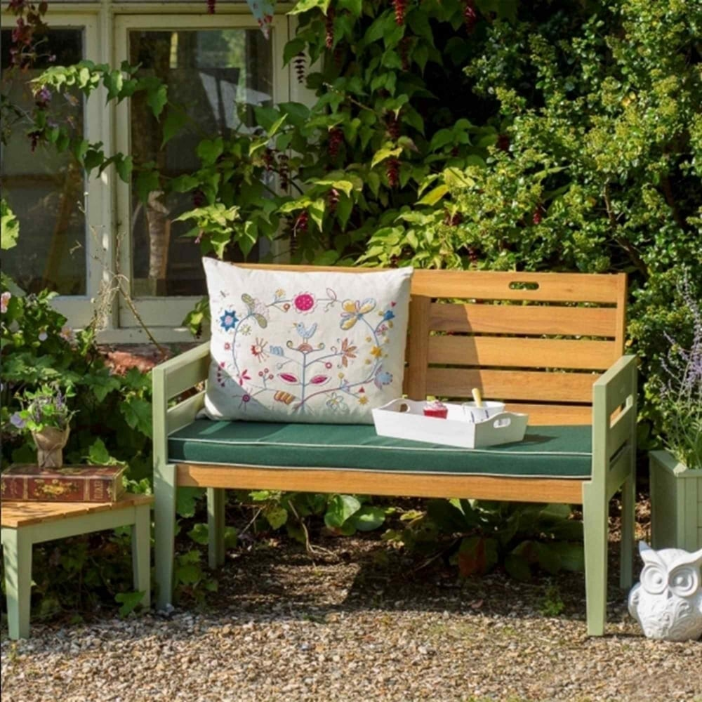 Norfolk Leisure Florenity Verdi 2 Seater Bench Garden Street
