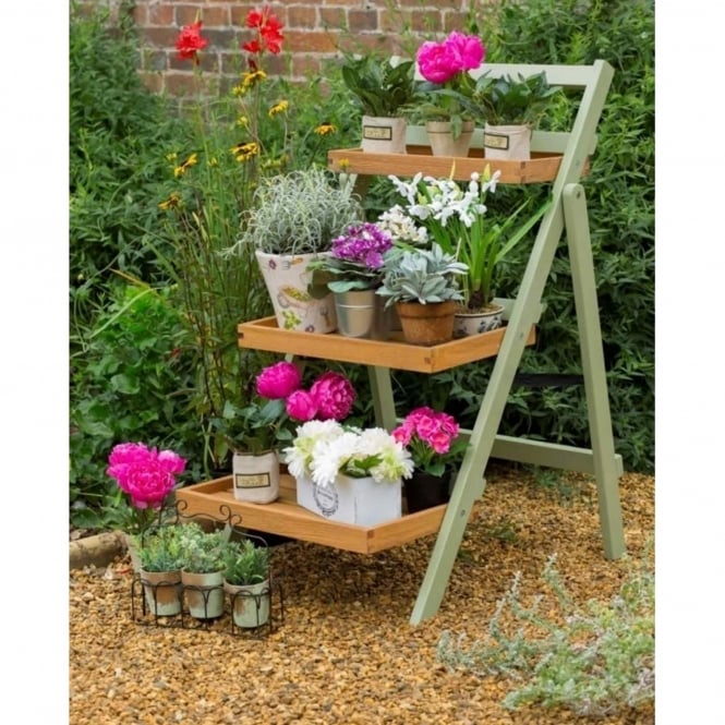 Norfolk Leisure Florenity Verdi Folding Pot Shelf