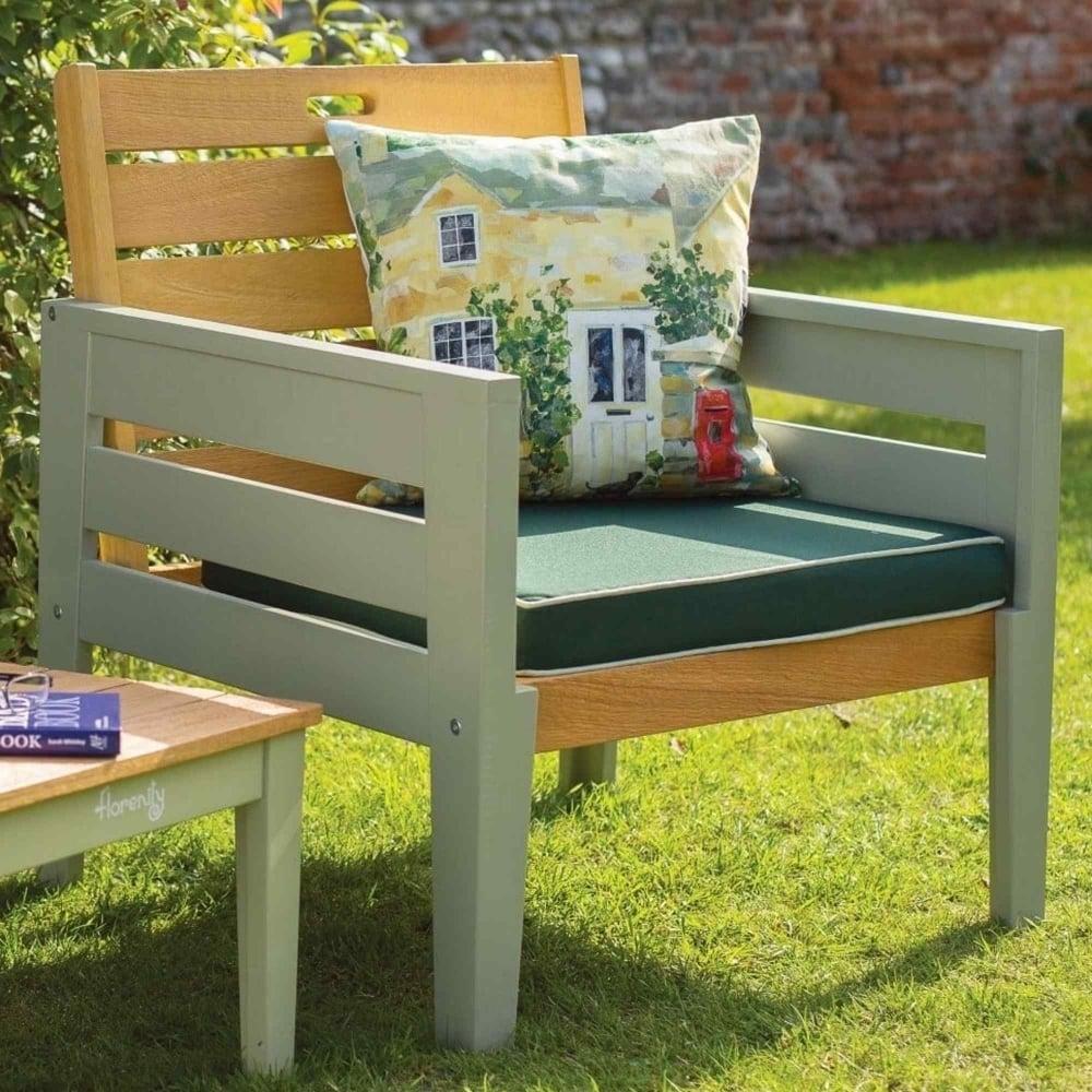 Norfolk Leisure Florenity Verdi Lounge Chair with Cushion ...