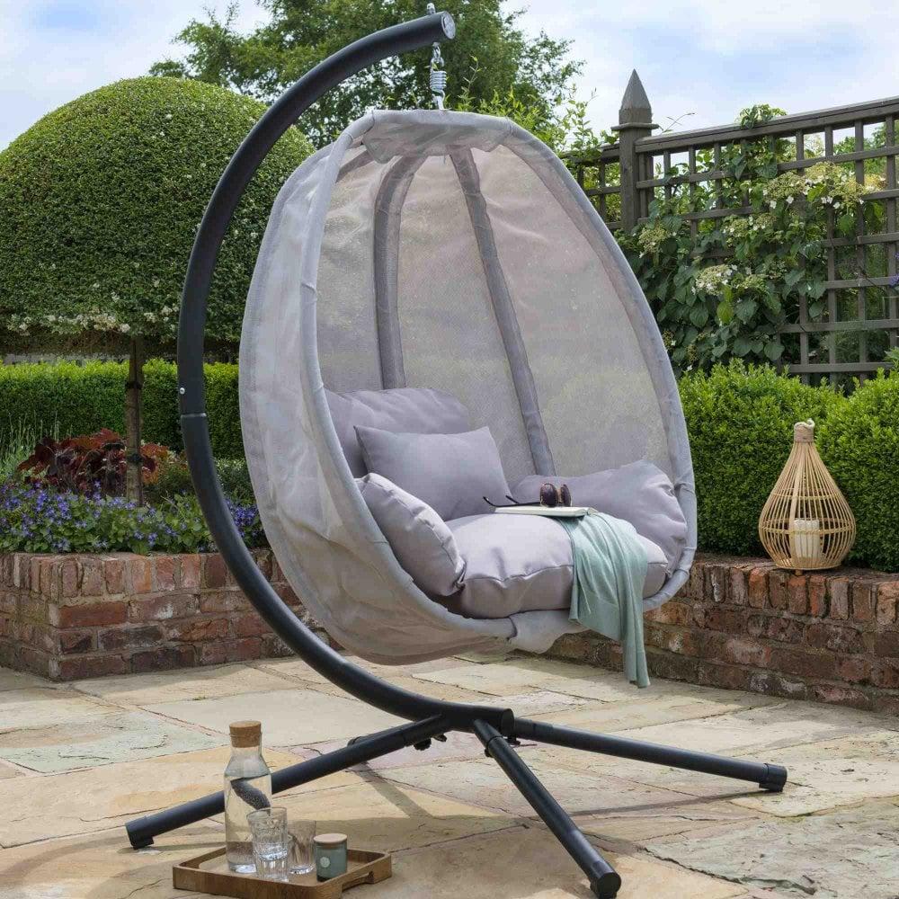 Norfolk Leisure Folding Textilene Swing Chair   Garden Street