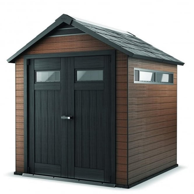 Norfolk Leisure Fusion Plastic Apex Shed 7X7