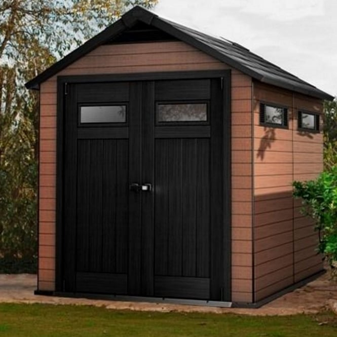 Norfolk Leisure Fusion Plastic Apex Shed 7X9