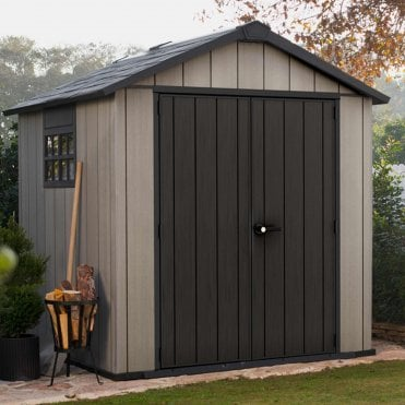 Oakland Plastic Apex Shed 7X7