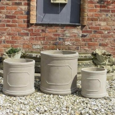 Nottingham Pot - Set of 3 Planters