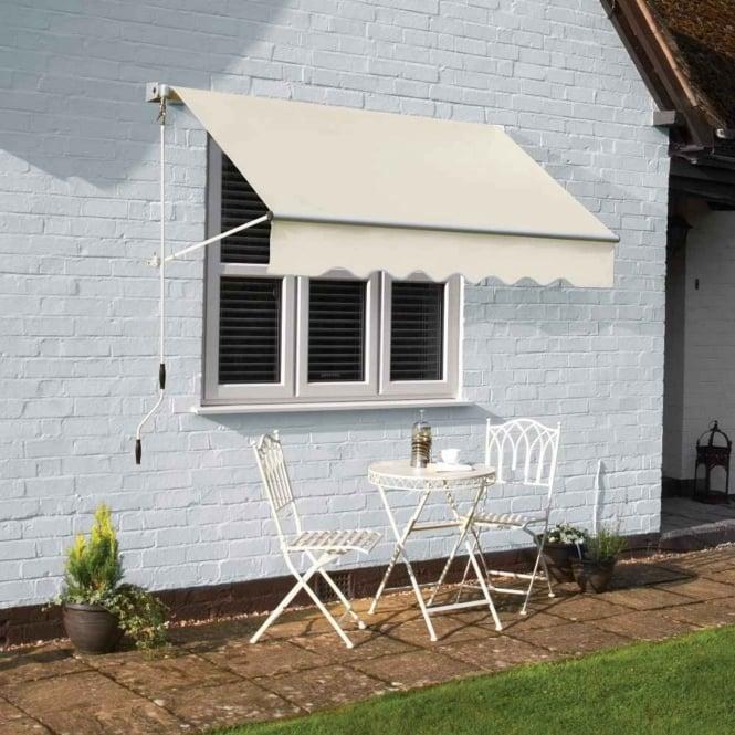 Greenhurst Oakley Drop Arm Window Awning Garden Street