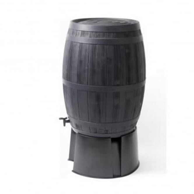 Original Organics Oak Wood Barrel Effect Water Butt 235 Litres