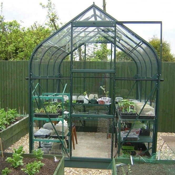 Vitavia Orion Green Framed Greenhouse 6X6