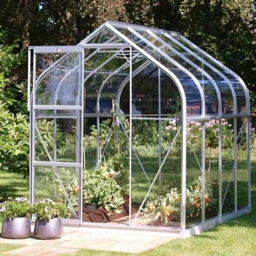 Orion Silver Framed Greenhouse 6X8