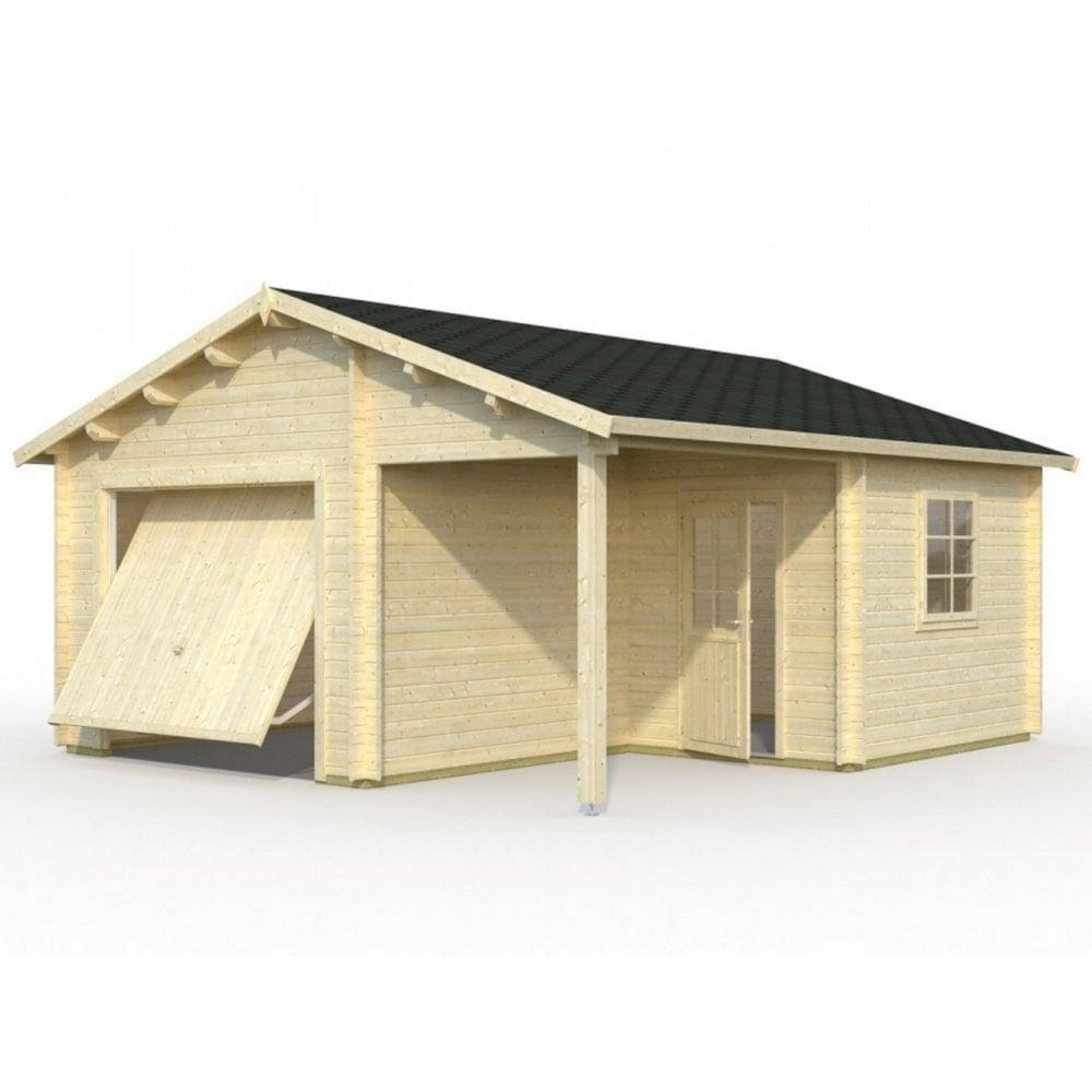 Palmako garage 4 garden street for Cobertizos de madera