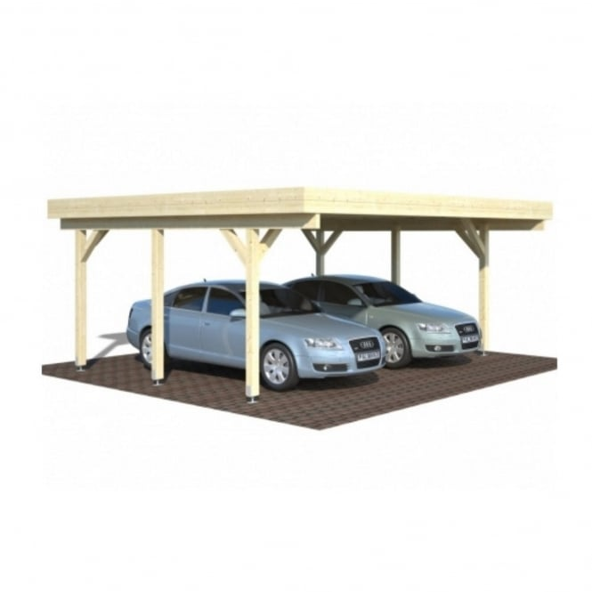 Palmako Richard 1 Double Carport