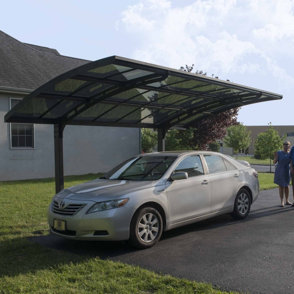 Vanguard 5000 Free Standing Car Port: Palram Arizona 5000 Breeze Cantilever Carport