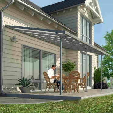 Feria Patio Cover 3m Grey
