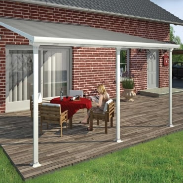 Feria Patio Cover 4m White