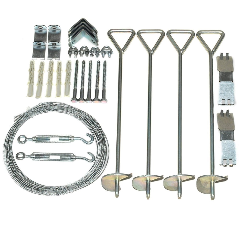 Greenhouse Accessory Anchoring Kit