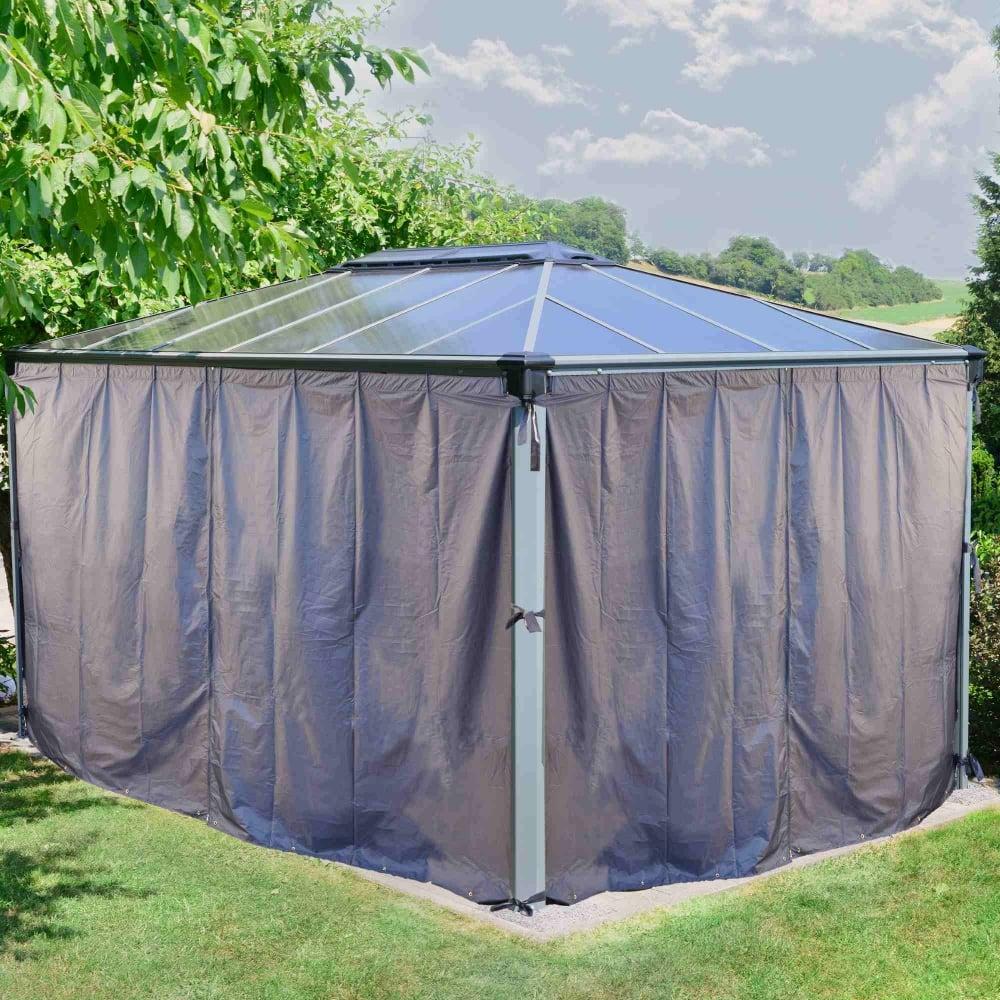 Houseofauracom Curtain Gazebo Privacy Curtains