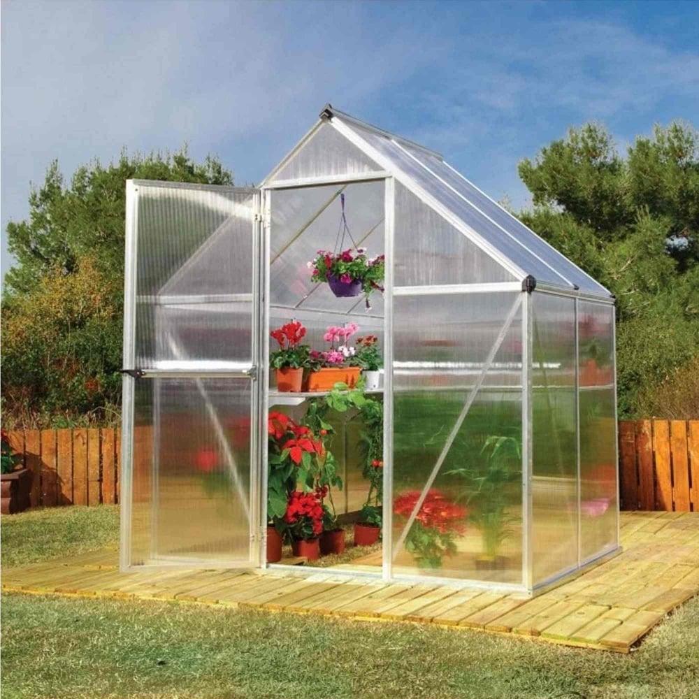 Palram Mythos Greenhouse 6x4 Garden Street