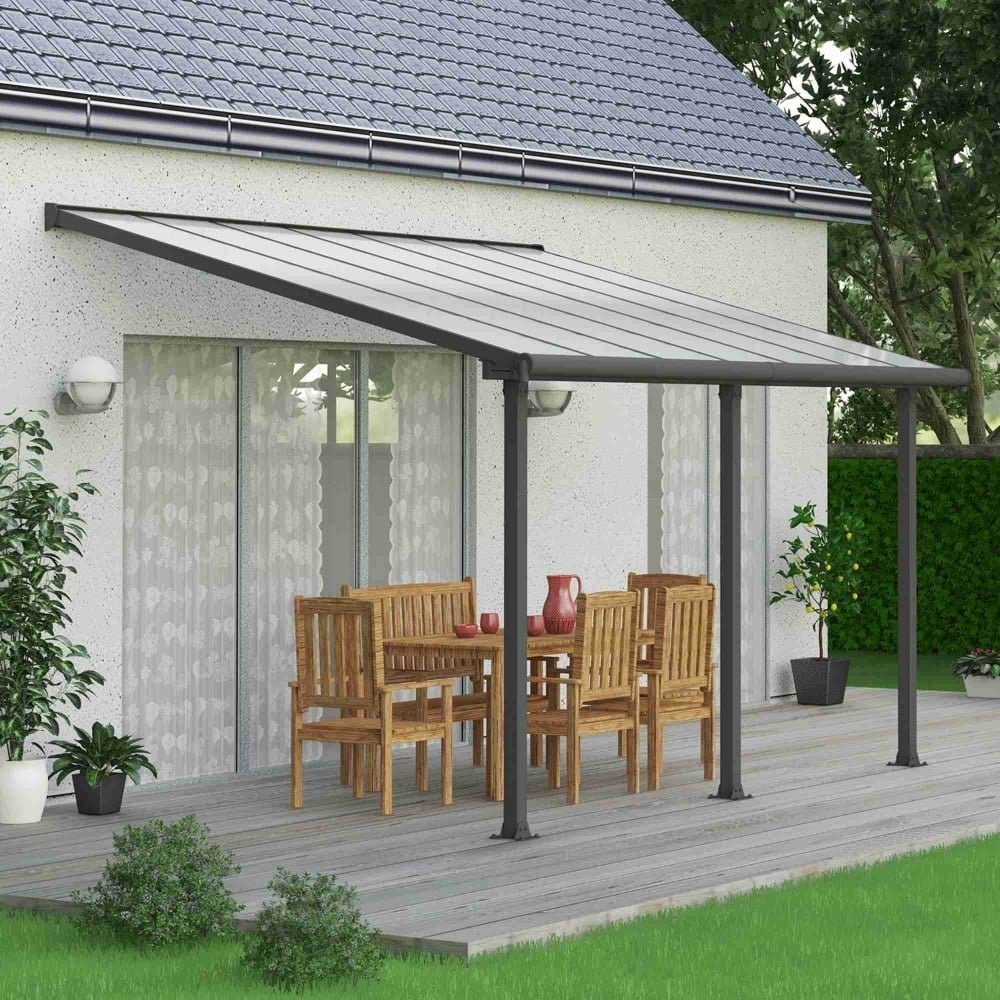 Olympia Patio Cover 3m Grey