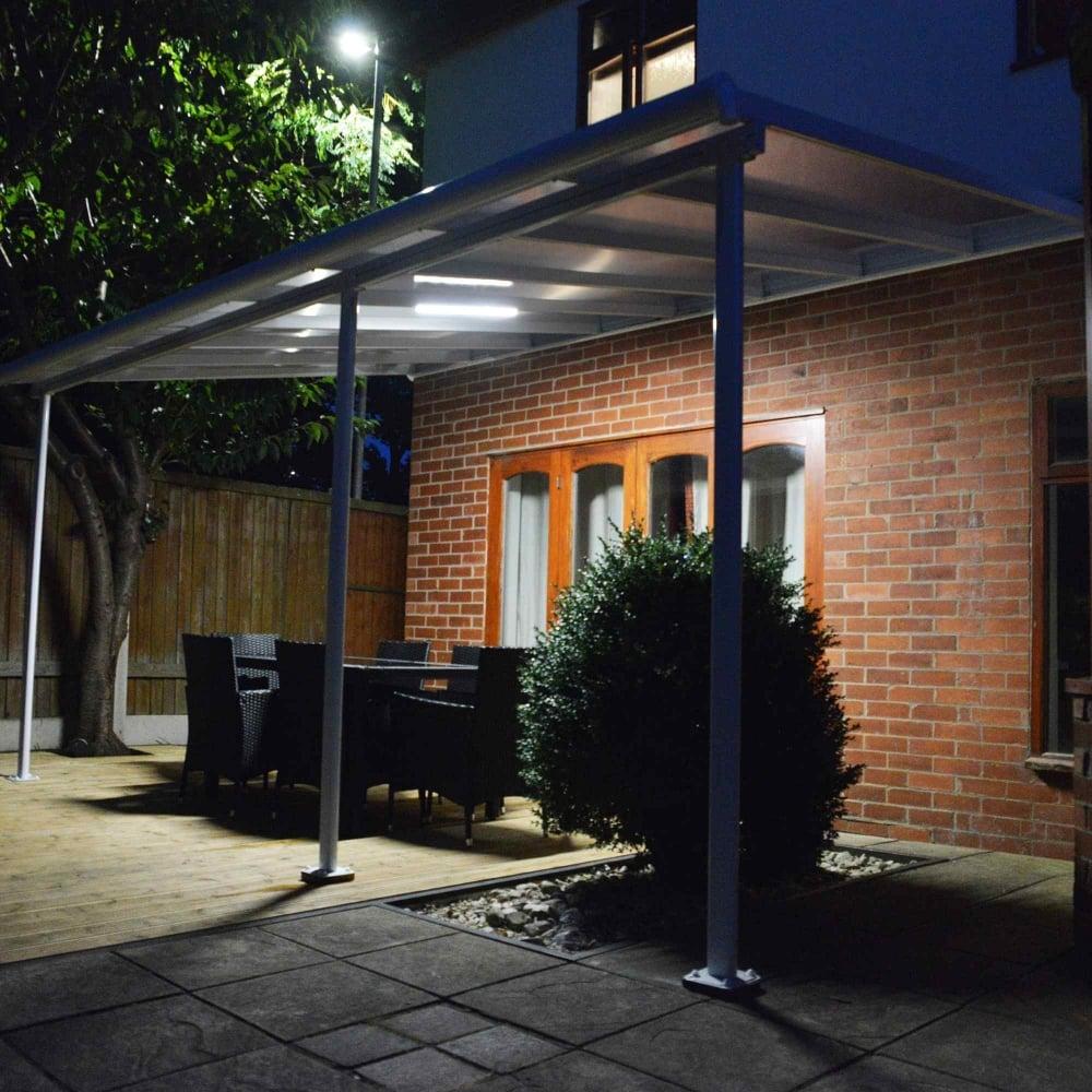 palram outdoor lighting system garden street