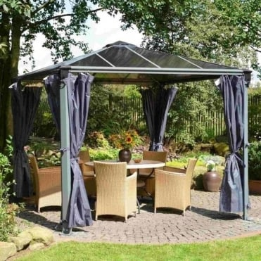 Palermo 3000/3600 Gazebo Curtain Set