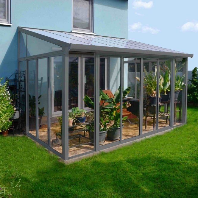 Palram San Remo Conservatory Grey