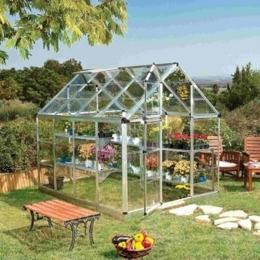 Snap And Grow Greenhouse 6X8