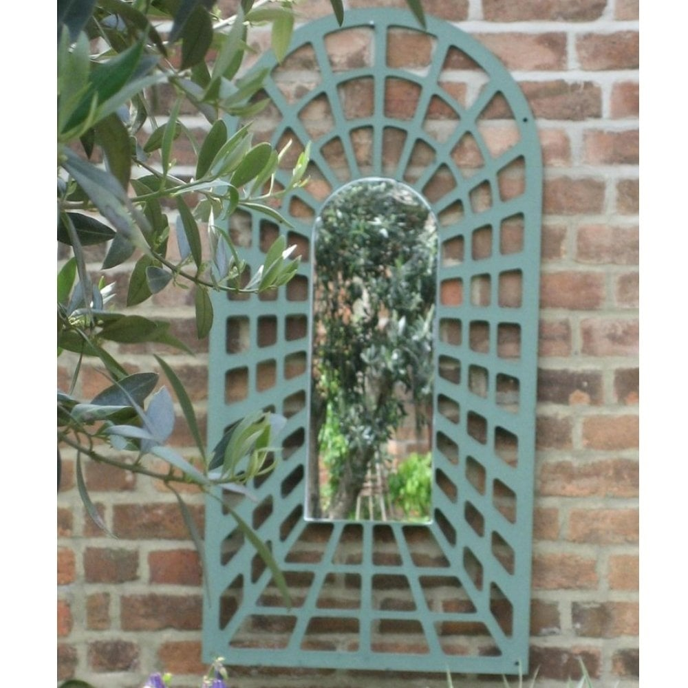 parallax illusion perspective arch trellis garden. Black Bedroom Furniture Sets. Home Design Ideas