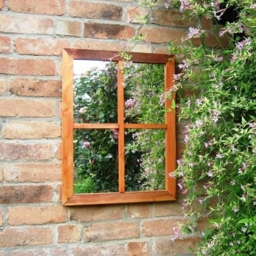 Victorian Window Garden Mirror