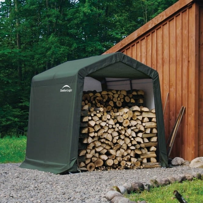Shelter Logic Peak Style Storage Shed 8X8