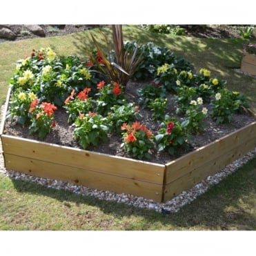Pentagonal Raised Bed