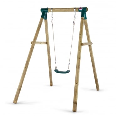 Bush Baby Wooden Single Swing Set