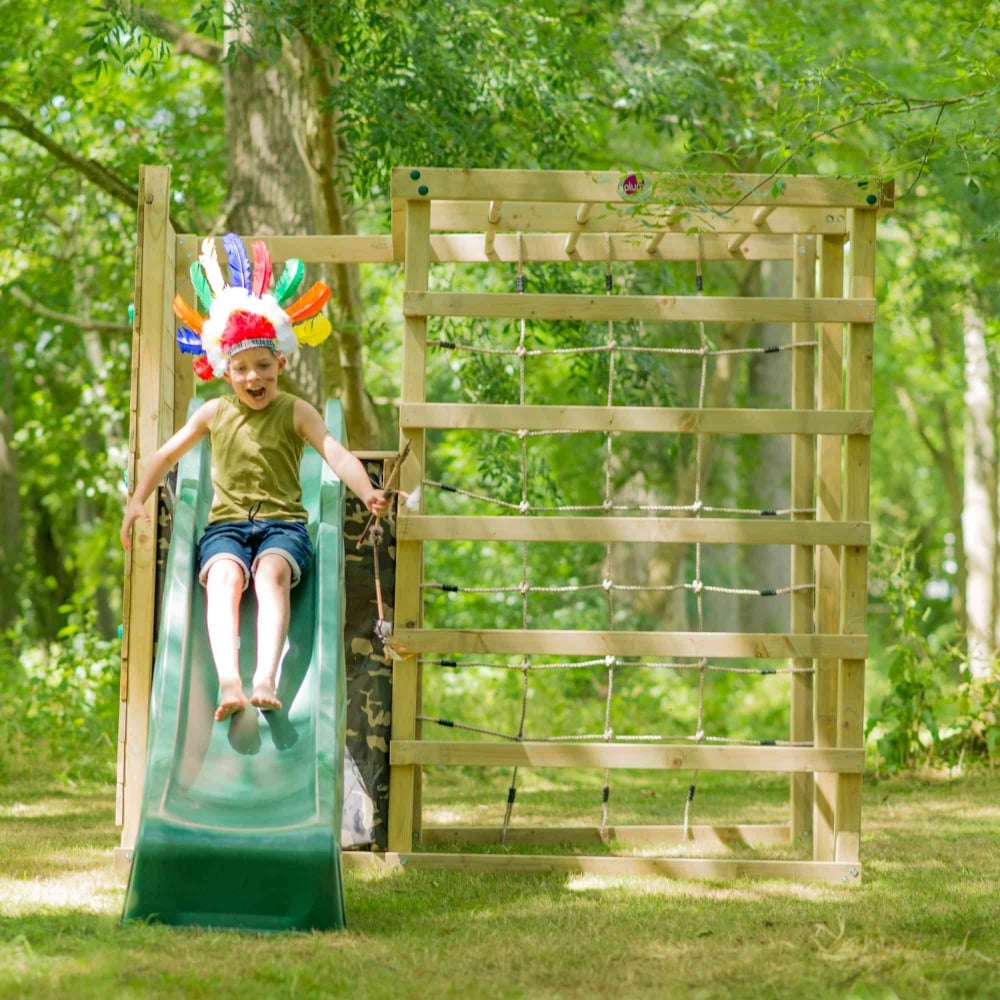 Plum Climbing Cube Wooden Play Centre
