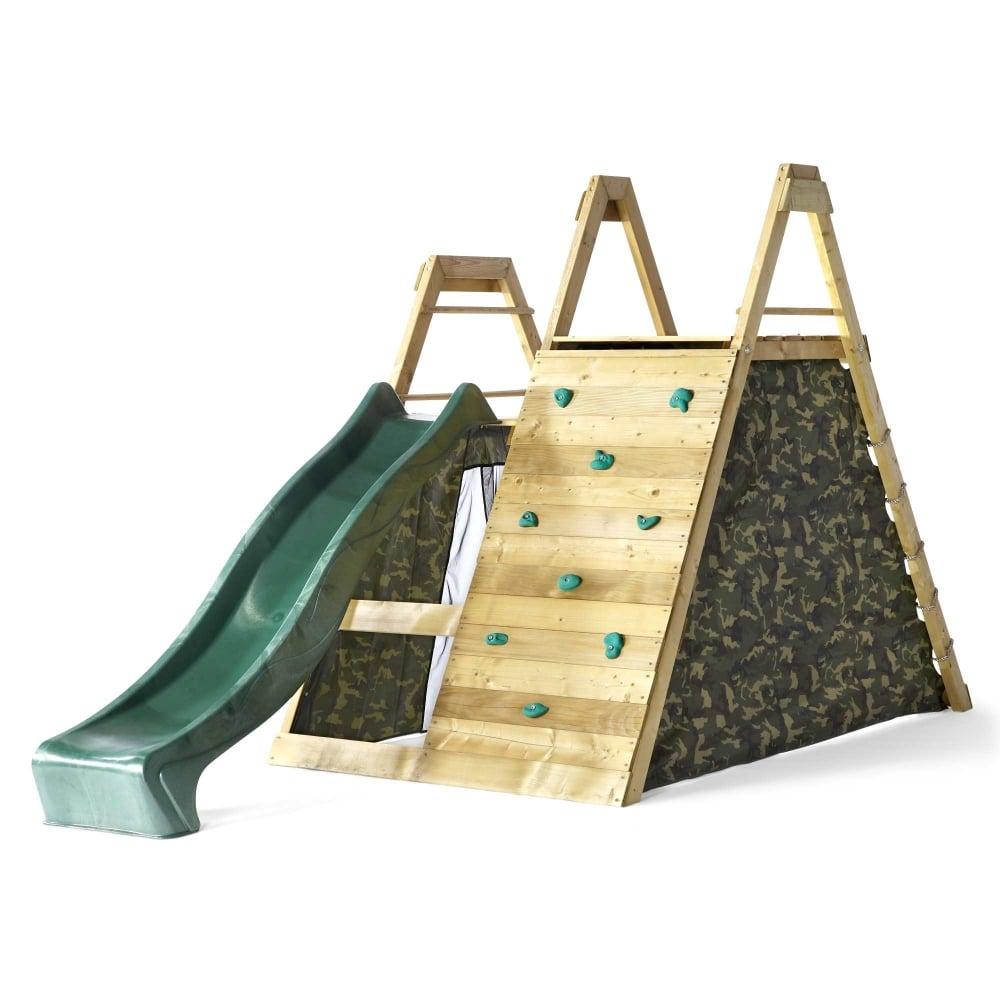 Plum Climbing Pyramid Wooden Climbing Frame Garden Street