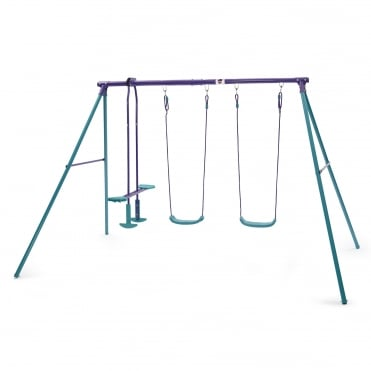 Jupiter Metal Swing Set