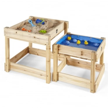 Sandy Bay Wooden Sand Pit And Water Table