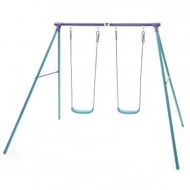Sedana Metal Double Swing Set