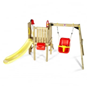 Toddlers Tower Wooden Climbing Frame