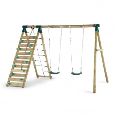 Uakari Wooden Swing Set
