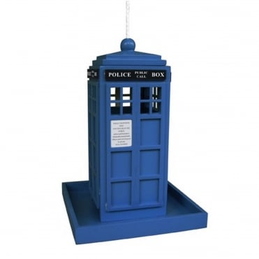 Police Box Bird Feeder