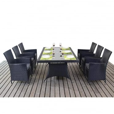 Prestige Rectangle 6 Seater Dining Set