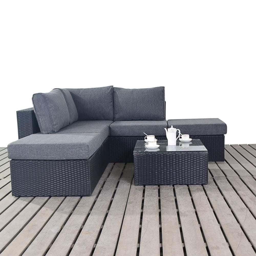 Port Royal Prestige Small Corner Sofa Set | Garden Street