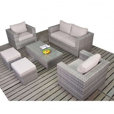 Rustic Small Sofa Set