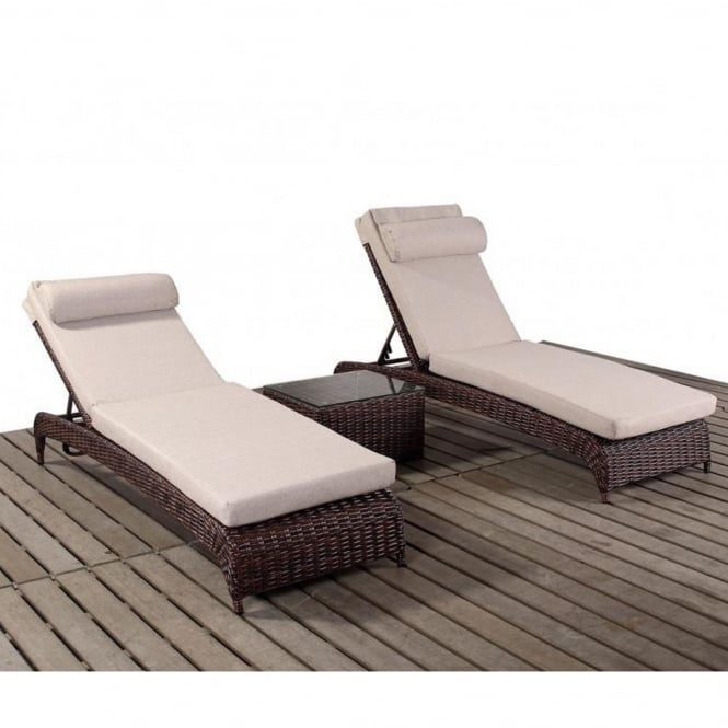 Port Royal Windsor Lounger Set