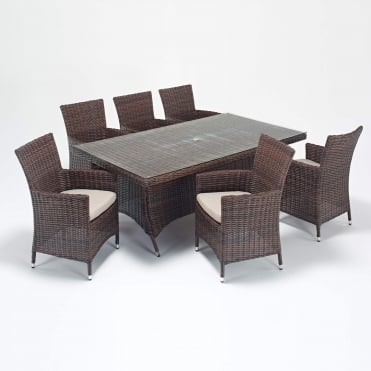 Windsor Rectangle 6 Seater Dining Set