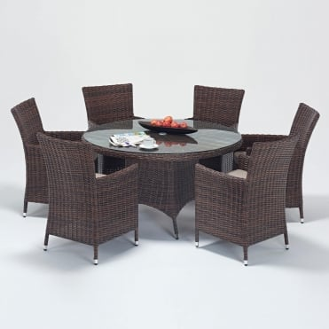 Windsor Round 6 Seater Dining Set