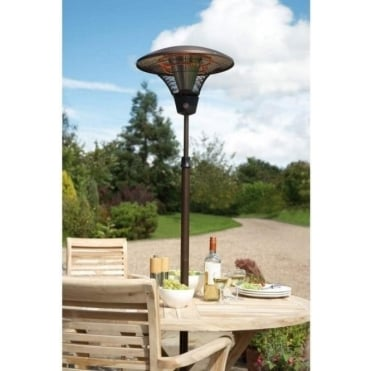 2kW Infrared Deluxe Patio Heater