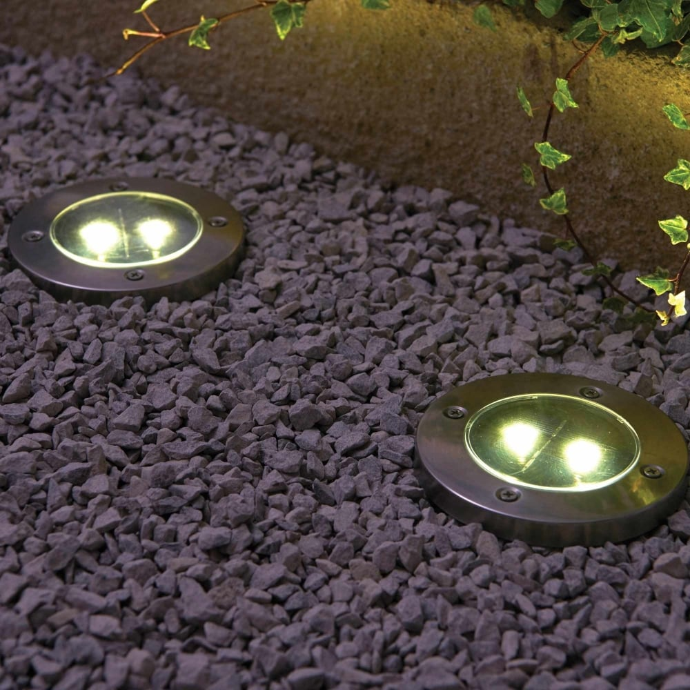 Powertek Solar Floor Lights Garden Street