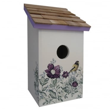 Printed Saltbox Birdhouse Anemone